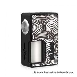 Authentic Vandy Vape Pulse BF Squonk Mechanical Box Mod - Sticker Edition 04, Nylon + ABS, 8ml, 1 x 18650 / 20700