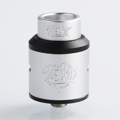 Lost Art Goon V1.5 Style RDA Rebuildable Dripping Atomizer w/ BF Pin - Silver, Aluminum + Stainless Steel, 24mm Diameter