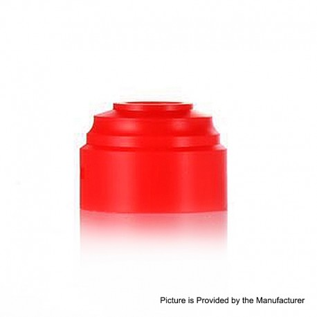 Authentic GAS Mods Replacement Colour Caps for G.R.1 GR1 RDA - Red, POM, 24mm Diameter