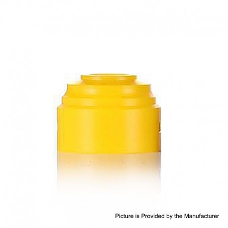 Authentic GAS Mods Replacement Colour Caps for G.R.1 GR1 RDA - Yellow, POM, 24mm Diameter