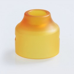 Authentic Oumier Replacement Top Cap for Wasp Nano Mini RDA - Yellow, PEI