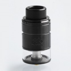 Authentic Vapefly Mesh Plus RDTA Rebuildable Dripping Tank Atomizer - Black, Stainless Steel, 3.5ml, 25mm Diameter