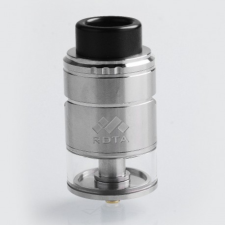 Authentic Vapefly Mesh Plus RDTA Rebuildable Dripping Tank Atomizer - Silver, Stainless Steel, 3.5ml, 25mm Diameter