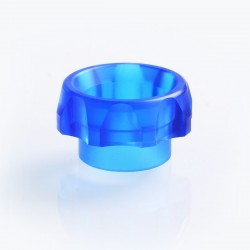 TACTF5VE Style 810 Replacement Drip Tip for Goon / Kennedy / Battle RDA - Blue, Acrylic, 10.5mm
