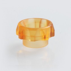 TACTF5VE Style 810 Replacement Drip Tip for Goon / Kennedy / Battle RDA - Orange, Acrylic, 10.5mm