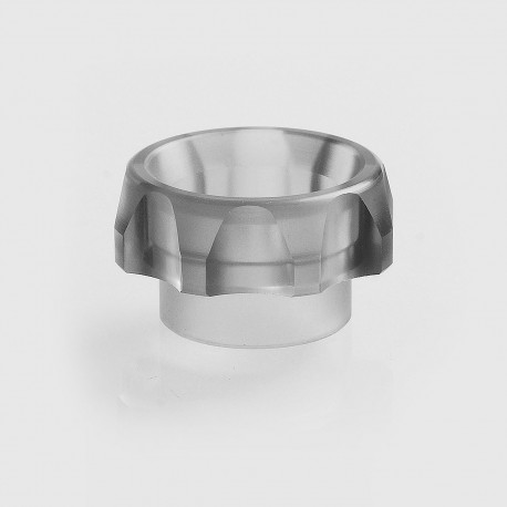 TACTF5VE Style 810 Replacement Drip Tip for Goon / Kennedy / Battle RDA - Grey, Acrylic, 10.5mm
