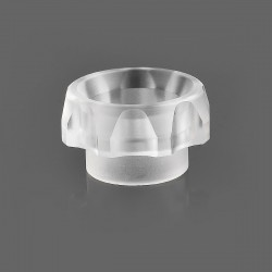 TACTF5VE Style 810 Replacement Drip Tip for Goon / Kennedy / Battle RDA - Transparent, Acrylic, 10.5mm