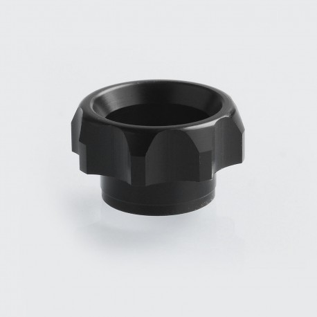 TACTF5VE Style 810 Replacement Drip Tip for Goon / Kennedy / Battle RDA - Black, Acrylic, 10.5mm