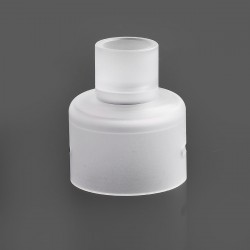 Replacement Top Cap + 510 Drip Tip Kit for Soul S Style RDA - White, PC