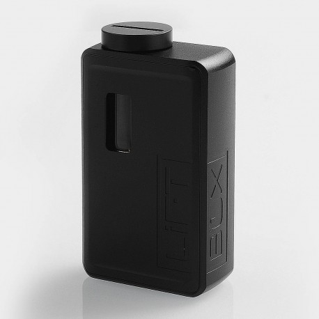 Authentic Innokin LiftBox Bastion Siphon Squonk Mechanical Box Mod - Black, 8ml, 1 x 18650