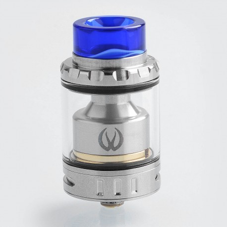 Authentic Vandy Vape Kylin Mini RTA Rebuildable Tank Atomizer - Silver, Stainless Steel, 5ml, 24.4mm Diameter
