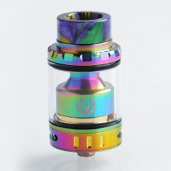 Authentic Vandy Vape Kylin Mini RTA Rebuildable Tank Atomizer - Rainbow, Stainless Steel, 5ml, 24.4mm Diameter