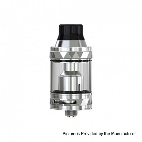Authentic Eleaf ELLO TS Sub Ohm Tank Clearomizer - Silver, Stainless Steel, 2ml / 4ml, 25mm Diameter