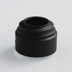 Authentic GAS Mods Replacement Colour Caps for G.R.1 GR1 RDA - Black, POM, 24mm Diameter