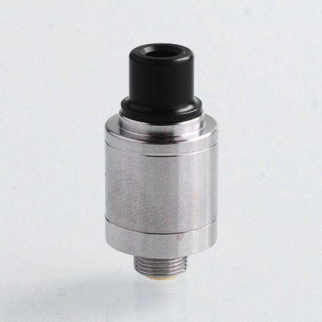 Speed Revolution Mini Style RDA Rebuildable Dripping Atomizer w/ BF Pin - Silver, 316 Stainless Steel, 14mm Diameter