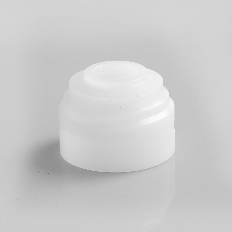 Authentic GAS Mods Replacement Colour Caps for G.R.1 GR1 RDA - White, POM, 22mm Diameter