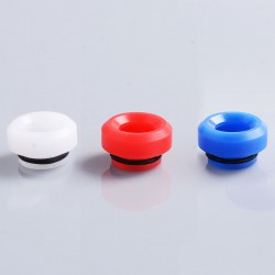 Authentic GAS Mods Replacement 510 Drip Tip Kit for G.R.1 GR1 RDA - White + Red + Blue, POM