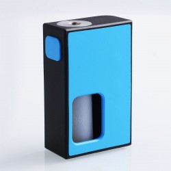 Authentic Coil Father Squonk Mini Mechanical Box Mod - Black + Blue, Nylon, 8ml, 1 x 18650