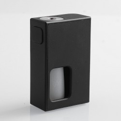 Authentic Coil Father Squonk Mini Mechanical Box Mod - Black, Nylon, 8ml, 1 x 18650