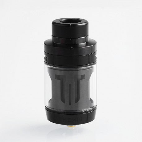Authentic Digiflavor Themis RTA Rebuildable Tank Atomizer Dual Coil Version - Black, Stainless Steel, 5ml, 27mm Diameter