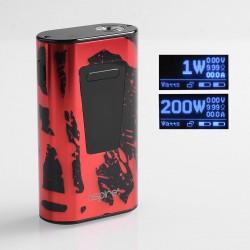 Authentic Aspire Typhon 100 100W 5000mAh TC VW Variable Wattage Box Mod - Red