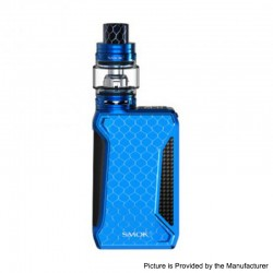 Authentic SMOKTech SMOK H-Priv 2 225W TC VW Mod + TFV12 Big Baby Prince Tank Kit - Blue, 1~225W, 2 x 18650, 6ml, 28mm Dia.