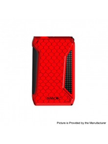 Authentic SMOKTech SMOK H-Priv 2 225W TC VW Variable Wattage Box Mod - Red, 1~225W, 2 x 18650