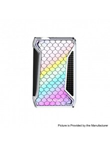 Authentic SMOKTech SMOK H-Priv 2 225W TC VW Variable Wattage Box Mod - Prism Chrome, 1~225W, 2 x 18650