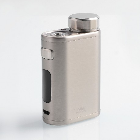 Authentic Eleaf iStick Pico 21700 100W TC VW Variable Wattage Box Mod - Brushed Silver, 1~100W, 1 x 18650 / 21700
