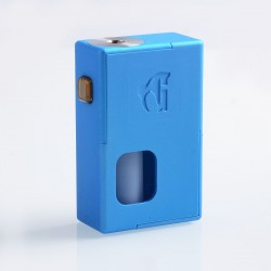 Goon Squonker Style Squonk Mechanical Box Mod - Blue, ABS, 8ml, 1 x 18650