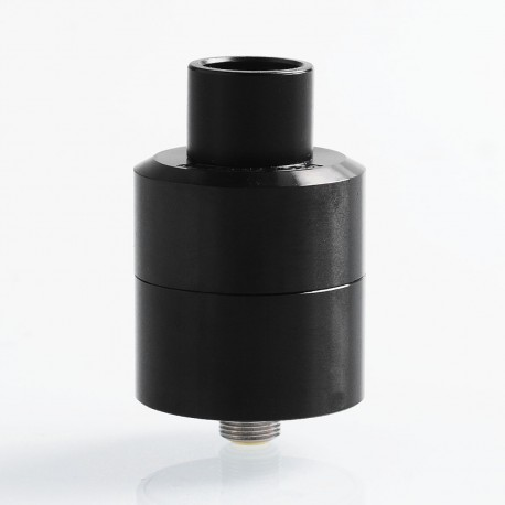 Authentic Digiflavor LYNX RDA Rebuildable Dripping Atomizer - Black, Stainless Steel, 25mm Diameter
