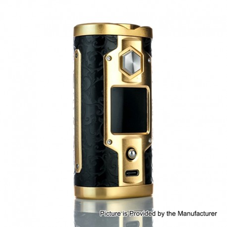 Authentic SXmini G Class 200W TC VW Variable Wattage Box Mod Limited Edition - Luxury Golden, 5~200W, 2 x 18650
