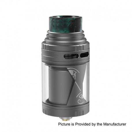 Authentic Vapefly Horus RTA Rebuildable Tank Atomzier - Gun Metal, Stainless Steel, 4ml, 25mm Diameter