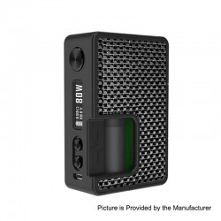 Authentic Vandy Vape Pulse BF 80W TC VW Squonk Box Mod w/ Vandy Chip - Silver / Black, 5~80W, 8ml, 1 x 18650 / 20700