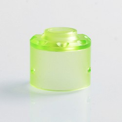 Replacement Top Cap for Hadaly Style RDA Atomizer - Green, PMMA