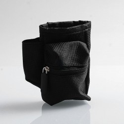 Authentic Coil Father Pbag Vape Bag for E-cigarette Mod / Atomizer / Accessory - Black, 100 x 110 x 50mm