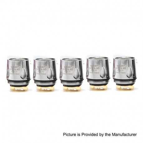 Authentic Smokjoy Replacement Coil Head for Knights Kit / SMOK TFV8 Baby Tank - 0.3 Ohm (5 PCS)