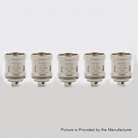Authentic Blitz Subohmcell Hellcat Replacement Coil Heads for Hellcat RDTA / Sub Ohm Tank - 0.2 Ohm (60~200W) (5 PCS)