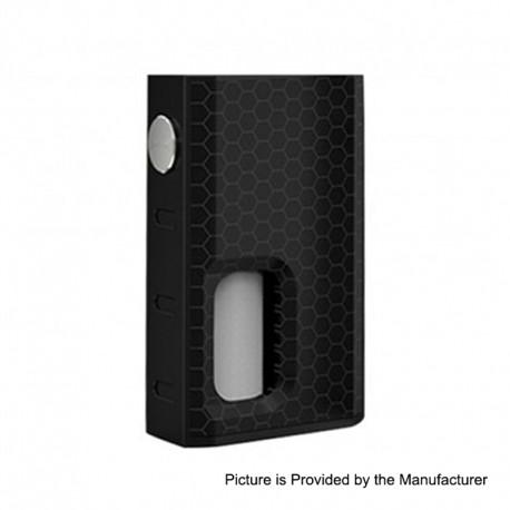 Authentic Wismec Luxotic 100W Squonk Box Mod - Black Honeycomb, 7.5ml, 1 x 18650