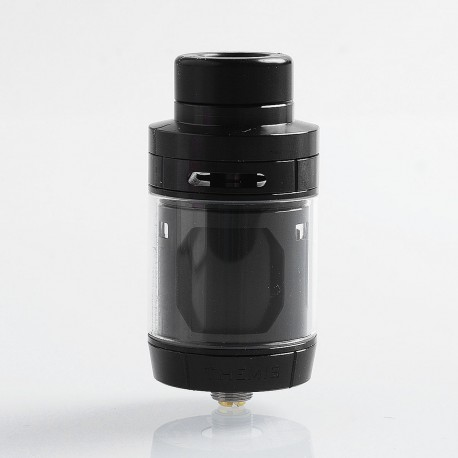 Authentic Digiflavor Themis RTA Rebuildable Tank Atomizer Mesh Version - Black, Stainless Steel, 5ml, 27mm Diameter