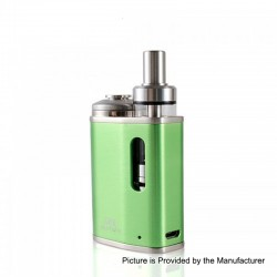 Authentic Eleaf iStick Pico Baby 25W 1050mAh Mod + GS Baby Tank Kit - Green, Stainless Steel, 2ml