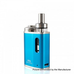 Authentic Eleaf iStick Pico Baby 25W 1050mAh Mod + GS Baby Tank Kit - Blue, Stainless Steel, 2ml