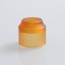 Authentic Vapefly Replacement Top Cap for Galaxies MTL RDA - Translucent Orange, PMMA