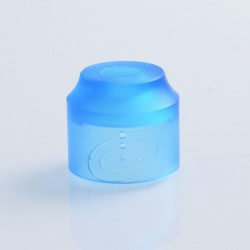 Authentic Vapefly Replacement Top Cap for Galaxies MTL RDA - Translucent Blue, PMMA