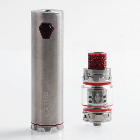 Authentic SMOKTech SMOK Stick Prince 100W 3000mAh Mod + TFV12 Prince Tank Kit - Silver, 8ml, 28mm Diameter