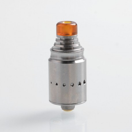 Authentic Vandy Vape Berserker MTL RDA Rebuildable Dripping Atomizer - Silver, Stainless Steel, 18mm Diameter
