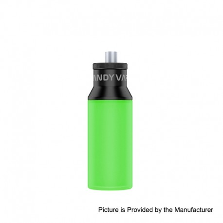 Authentic Vandy Vape Squonk Bottle for Pulse BF 80W Box Mod - Green, Silicone, 8ml