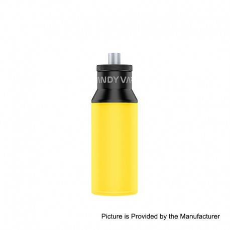 Authentic Vandy Vape Squonk Bottle for Pulse BF 80W Box Mod - Yellow, Silicone, 8ml