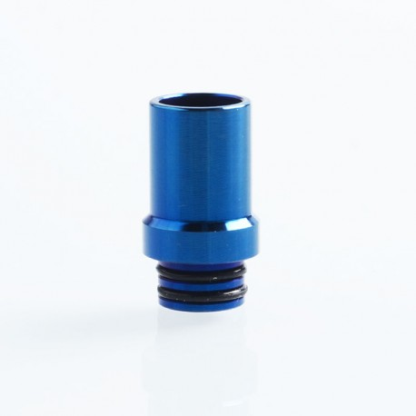 510 Replacement Drip Tip for RDA / RTA / Sub Ohm Tank - Enamel Blue, Stainless Steel, 20mm