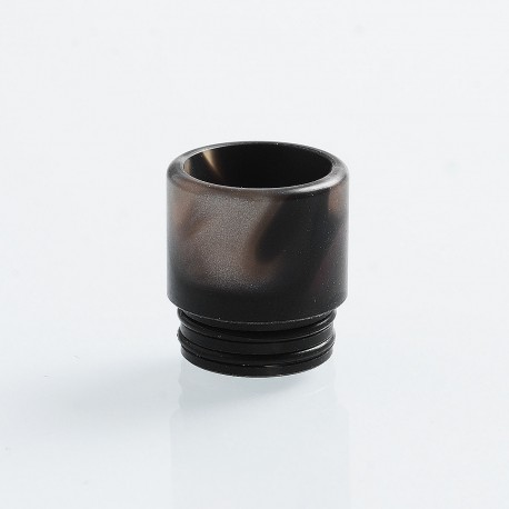 810 Replacement Drip Tip for TFV8 / TFV12 Tank / 528 Goon / Kennedy / Reload RDA - Black, Resin, 16mm